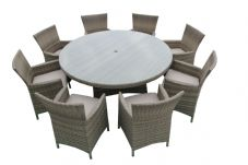 The Tonbridge 8 Seater Dining Suite